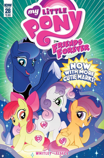 MY LITTLE PONY FRIENDS FOREVER #28 1st PRINT