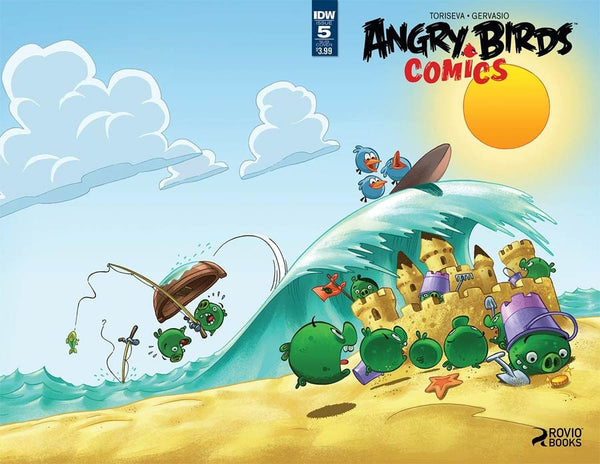 ANGRY BIRDS COMICS #5 SUBSCRIPTION VARIANT