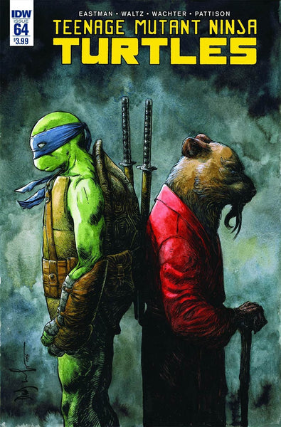 TMNT #64 ONGOING MAIN TEENAGE MUTANT NINJA TURTLES