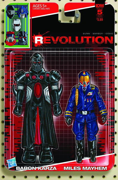 REVOLUTION #5 OF 5 SUB VARIANT D ACTION FIGURE ADAM RICHES