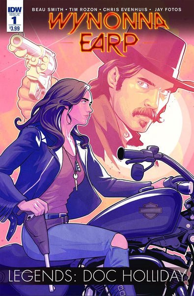 WYNONNA EARP LEGENDS DOC HOLLIDAY #1 MAIN