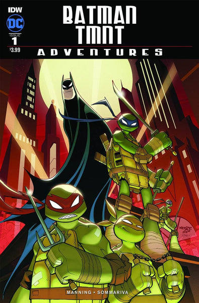 BATMAN TMNT ADVENTURES #1 MAIN LIMIT 1