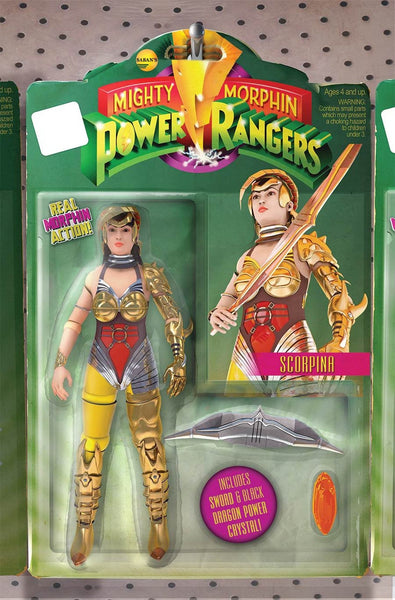MIGHT MORPHIN POWER RANGERS #9 UNLOCK ACTION FIGURE VARIANT