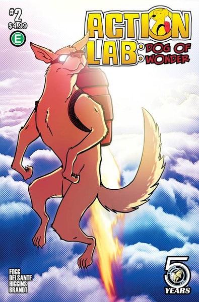 ACTION LAB DOG OF WONDER #2 CVR B ELLIS VARIANT