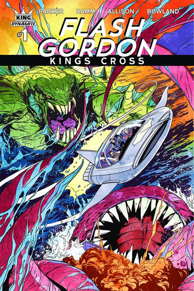 FLASH GORDON KINGS CROSS #1 COVER VARIANT B LAMING