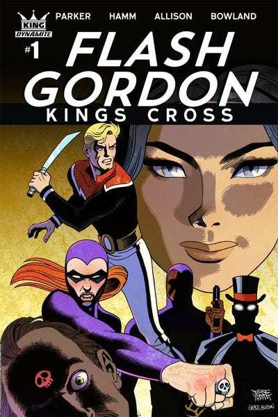 FLASH GORDON KINGS CROSS #1 COVER VARIANT C HAMM