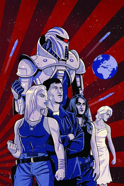 BATTLESTAR GALACTICA GODS & MONSTERS #1 VARIANT E SHONOVR VIRGIN