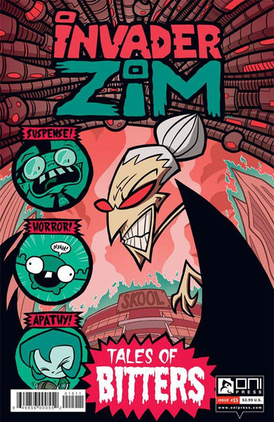 INVADER ZIM #15 MAIN COVER