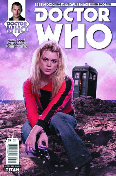 DOCTOR WHO 9TH #9 COVER B PHOTO VARIANT