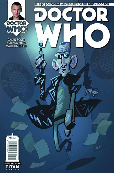 DOCTOR WHO 9TH #9 COVER C BAXTER VARIANT