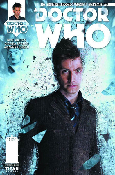 DOCTOR WHO 10TH YEAR TWO #17 COVER B PHOTO VARIANT