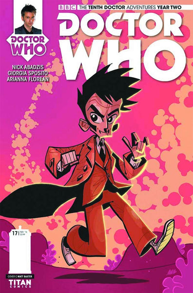 DOCTOR WHO 10TH YEAR TWO #17 COVER C BAXTER VARIANT