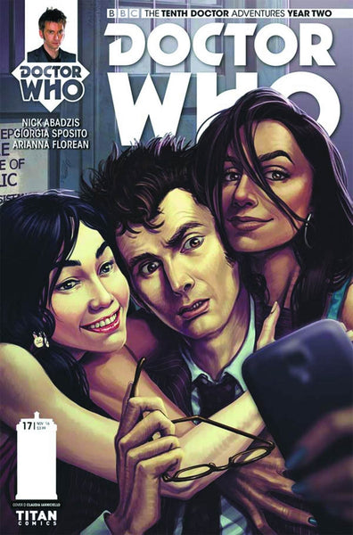DOCTOR WHO 10TH YEAR TWO #17 COVER D IANICIELLO VARIANT
