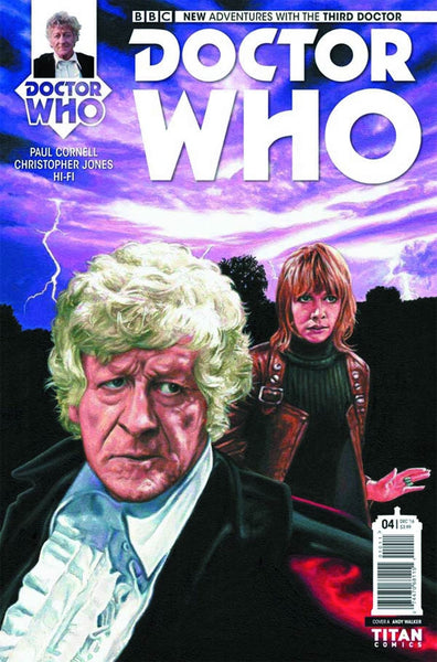 DOCTOR WHO 3RD #4 OF 5 COVER A WALKER