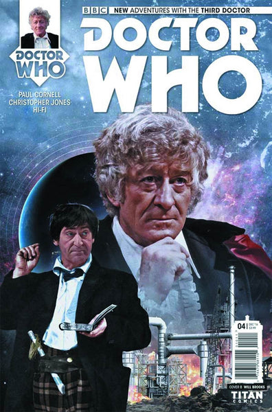 DOCTOR WHO 3RD #4 OF 5 COVER B PHOTO VARIANT