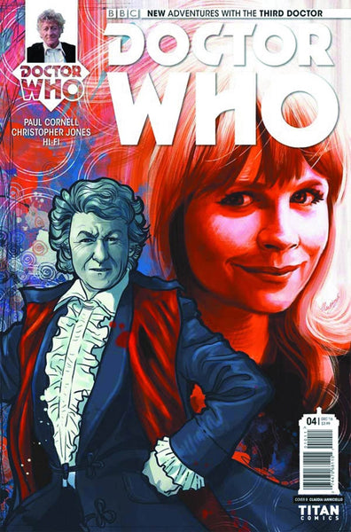DOCTOR WHO 3RD #4 OF 5 COVER C IANNICIELLO VARIANT