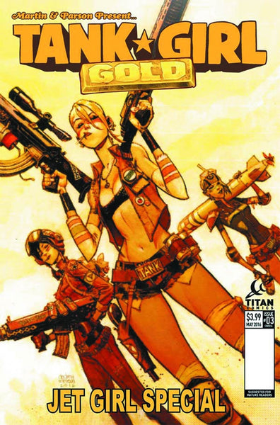 TANK GIRL GOLD #3 OF 4 COVER A ROBINSON