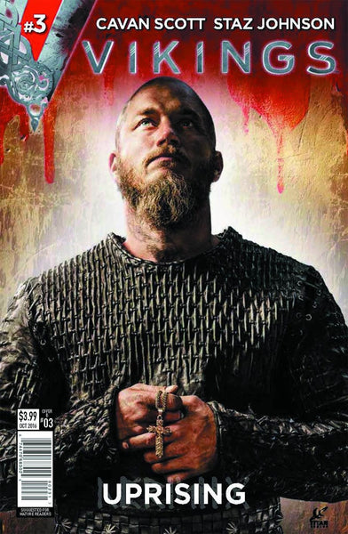 VIKINGS UPRISING #3 (OF 4) COVER B PHOTO VARIANT