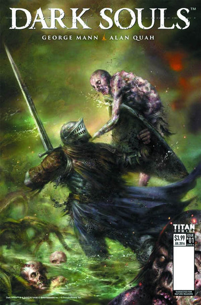 DARK SOULS WINTERS SPITE #1 (OF 4) CVR C PERCIVAL VARIANT