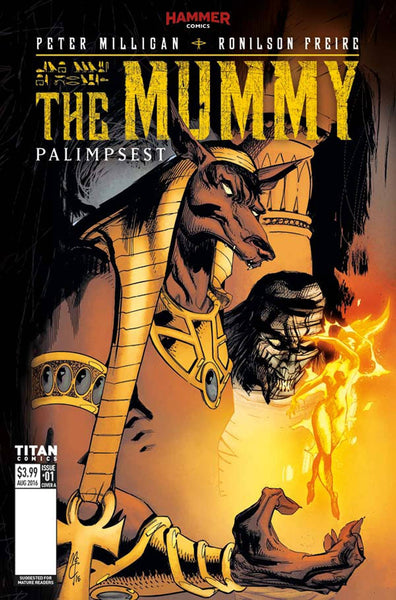 MUMMY #1 OF 5 COVER A McCREA