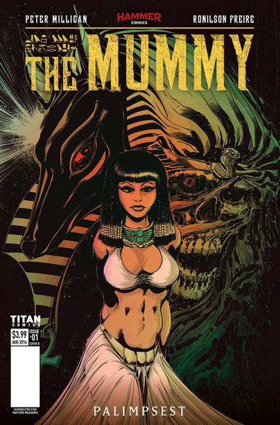 MUMMY #1 OF 5 COVER B MANDRAKE VARIANT
