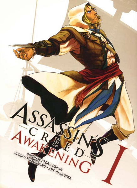 ASSASSINS CREED AWAKENING #1 (OF 6) COVER A KENJI