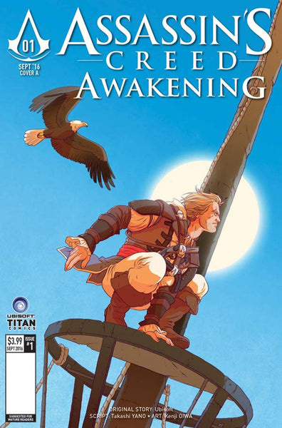ASSASSINS CREED AWAKENING #1 (OF 6) COVER D BROWN VARIANT