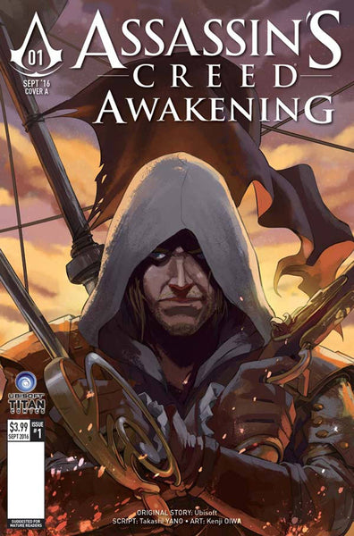 ASSASSINS CREED AWAKENING #1 (OF 6) COVER E LEE VARIANT