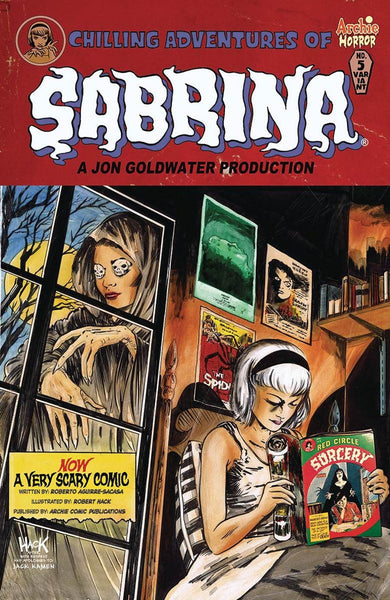 CHILLING ADVENTURES OF SABRINA #5 HACK VARIANT