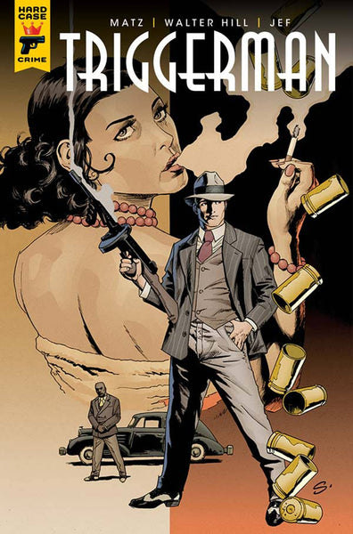 HARD CASE CRIME TRIGGER MAN #2 (OF 5) COVER B SCOTT VARIANT