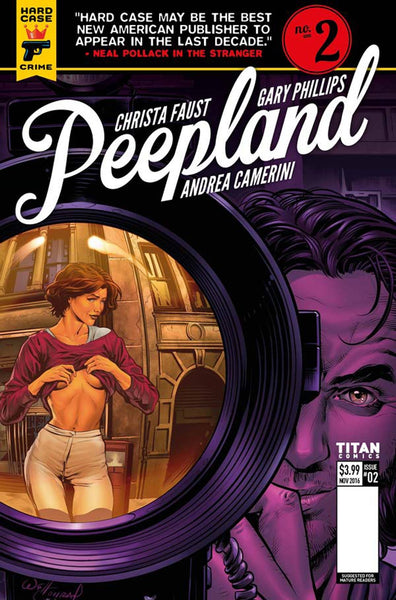 HARD CASE CRIME PEEPLAND #2 (OF 5) COVER B CONRAD VARIANT