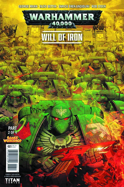 WARHAMMER 40000 WILL OF IRON #2 (OF 4) CVR A LISTRANI