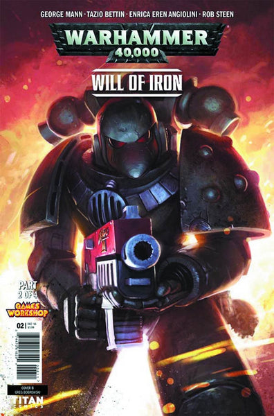 WARHAMMER 40000 WILL OF IRON #2 (OF 4) CVR B BOBROWSKI VARIANT