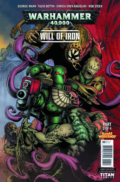 WARHAMMER 40000 WILL OF IRON #2 (OF 4) CVR C BETTIN VARIANT