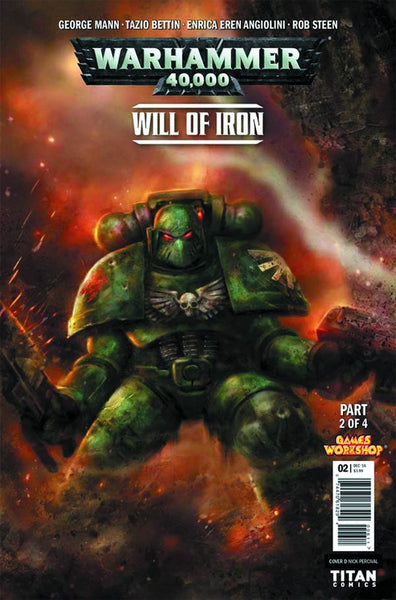WARHAMMER 40000 WILL OF IRON #2 (OF 4) CVR D PERCIVAL VARIANT