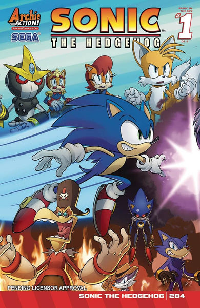 SONIC THE HEDGEHOG #284 REGULAR COVER A