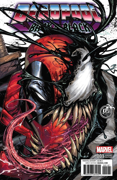 DEADPOOL BACK IN BLACK #1 KRS COLOR EXCLUSIVE VARIANT
