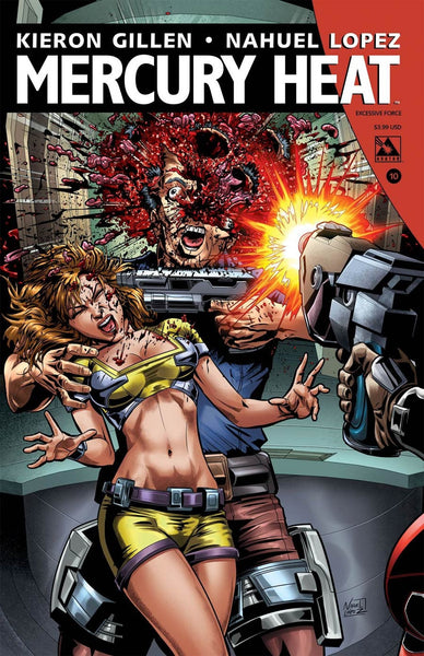 MERCURY HEAT #10 EXCESSIVE FORCE VARIANT