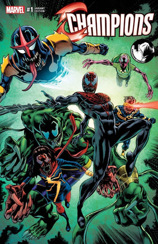 CHAMPIONS VOL 2 #1 UNKNOWN VENOM MIKE PERKINS COLOR VARIANT
