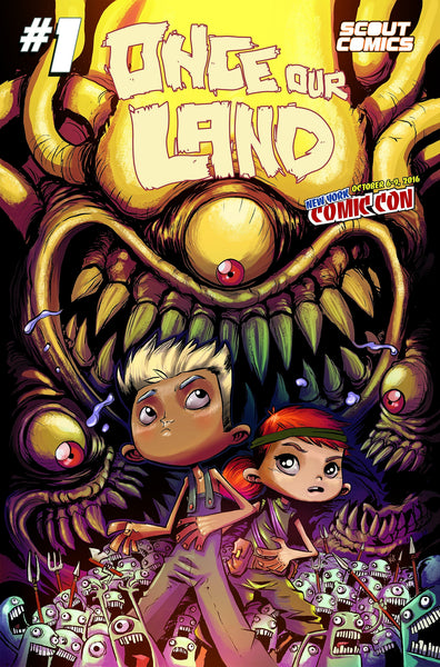 ONCE OUR LAND #1 NYCC NEW YOUR COMIC CON VARIANT 250 PRINT RUN