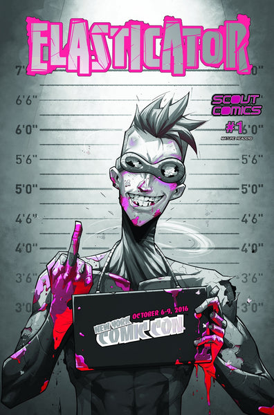 ELASTICATOR #1 NYCC NEW YOUR COMIC CON VARIANT