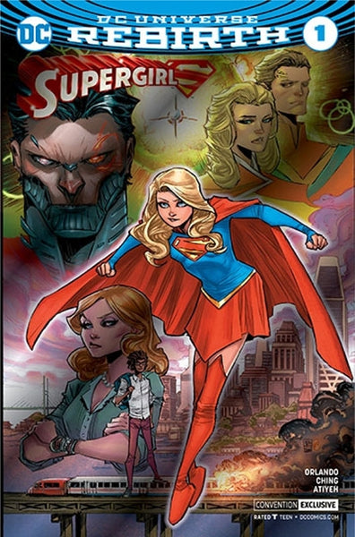 SUPERGIRL VOL 7 #1 NYCC HOLO FOIL VARIANT