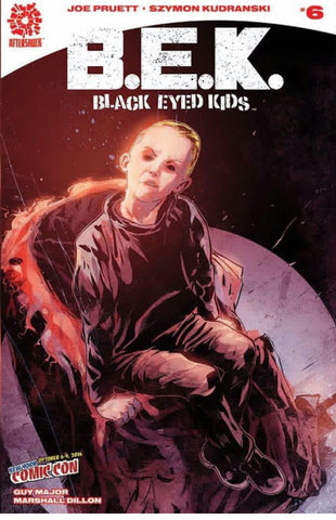 BLACK EYED KIDS #6 NYCC COMIC CON VARIANT NYCC