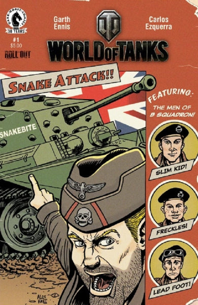 WORLD OF TANKS #1 NYCC VARIANT
