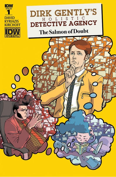 DIRK GENTLYS HOLISTIC DETECTIVE AGENCY SALMON OF DOUBT 1 NYCC