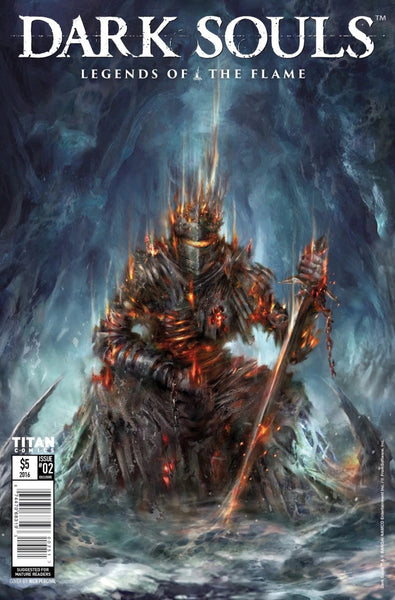 DARK SOULS LEGEND OF THE FLAME #2 NYCC CONVENTION VARIANT