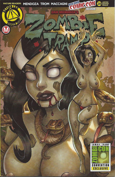 ZOMBIE TRAMP #28 NYCC 2016 RISQUE VARIANT