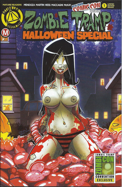 ZOMBIE TRAMP HALLOWEEN SPECIAL #1 NYCC 2016 RISQUE VARIANT