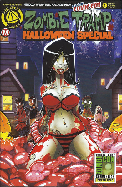 ZOMBIE TRAMP HALLOWEEN SPECIAL #1 NYCC 2016 VARIANT
