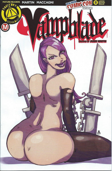 VAMPBLADE #8 NYCC 2016 RISQUE VARIANT